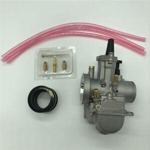 28mm Race Carburetor Intake Boot + Needle Jet Nozzle for Honda CR125R CR80 CR85