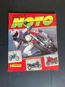 Super Moto 1993 Panini Sticker Album Complete except two foil stickers.