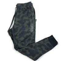 Nike French Terry Jogger Pants Sweatpants Green Camo Black CJ0950-475 Mens S-XXL