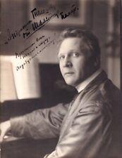 FEODOR CHALIAPIN Opera Bass autographed stellar Gerschel of Paris Photograph