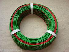 DRILLINGSLITZE LITZE KABEL 3adrig 50m rot schwarz grün für Roco neu und günstig