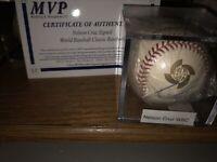 NELSON CRUZ Minnesota Twins SIGNED WBC MLB BASEBALL Autographed Game Ball COA+