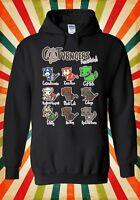 Catvengers Marvel Comic Cat Kitten Men Women Unisex Top Hoodie Sweatshirt 1794