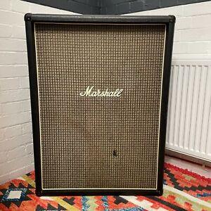 Marshall 1970's Artiste Checkerboard Tall 2x12 Speaker Cabinet Model #2049