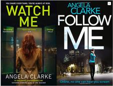 ANGELA CLARKE __ WATCH ME FOLLOW ME 2 BOOK SET__ BRAND NEW _ FREEPOST uk