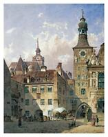 """The Old Town Hall, Munich-Paper Art-29.864""""x38"""""""