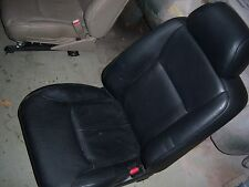 1998 Acura RL black leather  passenger right seat