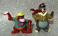 DISNEY BULLYLAND BULLY TALE SPIN SERIE 2 FIGURE SET 2 FIGURES OUT OF PRODUCTION