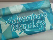 Adventure Island Cabana Beach Towel Old New Stock