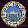 US NAVAL STATION PEARL HARBOR PATCH US NAVY MARINES PIN UP USS ARIZONA WW 2 GIFT