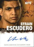 2010 Topps UFC Autographs #FAEE Efrain Escudero Auto