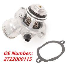 Engine Thermostat + Housing + Sensor +Seal for Mercedes ML SLK R E CLK C GLK Set