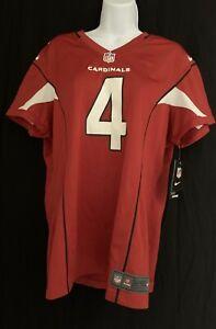ARIZONA CARDINALS Kevin Kolb #4 JERSEY Red NFL Team Logo Womens XL Nwt