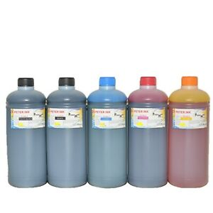 5X1000ML Edible refill Ink alternative for Canon inkjet printer A