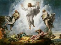 Raphael Transfiguration of Christ Fine Art Print Reproduction Giclee Canvas 8x10