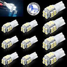 10x 20 Smd Led 501 T10 W5w lado número Placa Interior automóvil ligero cuña Lámpara de bombilla