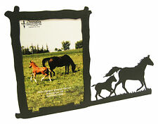 """Mare & Foal Horse Picture Frame 5""""x7"""" V"""