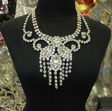 Da NeeNa NC0002 Party Showgirl Stage Vegas Drag Cabaret Crystal Necklace