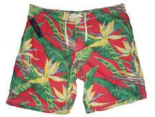 Polo Ralph Lauren Hawaiian Floral Swim Board Shorts 40