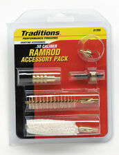 Traditions 5 Piece Black Powder Ramrod Accessory Pack for .50 Cal. # A1205 New!