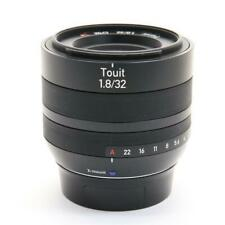 INEXPENSIVE!! Carl Zeiss Touit 32mm F1.8 For FUJI FILM A+++++