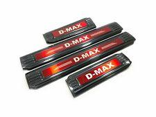 For Isuzu D-MAX Auto Accessories Stainless Steel Door Sill Scuff Plate Sticker