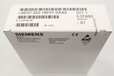 SIEMENS SIMATIC S7-300 SM322 Digitalausgabe output 6ES7322-1BF01-0AA0 NEU sealed
