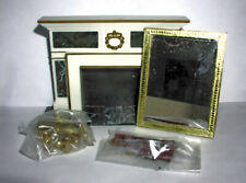 Petite Princess Vintage Miniature Dollhouse Furniture Regency Hearthplace In Box