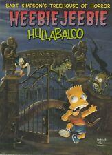 Bart Simpson's Treehouse of Horror Heebie-Jeebie Hullabaloo The Simpsons