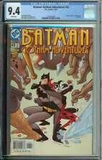 Batman: Gotham Adventures #43 CGC 9.4 Harley Quinn Cover Activity Insert Inside