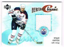2004-05 Upper Deck Heritage Classic Jersey #CC-RS Ryan Smyth Edmonton Oilers SP