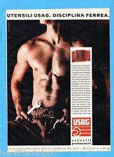 QUATTROR989-PUBBLICITA'/ADVERTISING-1989- USAG - UTENSILI PROFESSIONALI