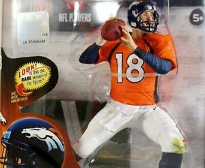 McFarlane Toys NFL Players Peyton Manning Denver Broncos #18 Orange Jersey New