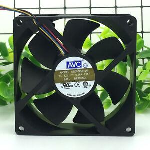 AVC 92*92*25MM 12V 0.56A 9CM DS09225B12U 4Pin Cooling Fan