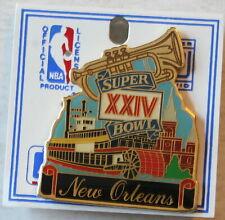"Super Bowl XXIV New Orleans 2"" Pin San Francisco 49ers vs. Denver Broncos"