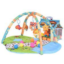 Baby Play Mat Activity Gym Round Soft Cartoon Educational Toy Newborn Carpet Usa