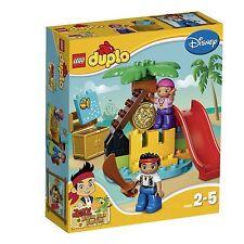 LEGO DUPLO DISNEY JAKE THE NEVERLAND PIRATES TRAESURE ISLAND 10604 SEALED