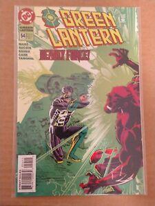 Green lantern #54 (Aug 1994,DC) 4th Kyle Reyner, New Green lantern. NM+ key ish.