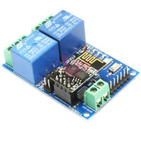 ESP8266 ESP-01 5V 2-Channel WiFi Relay Module Board For IOT Smart Home APP