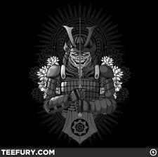 """The Lotus Warrior"" Teefury Shirt - Men's 2XL"