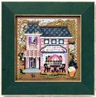 Mill Hill Beads Buttons Counted Cross Stitch kit~ ICE CREAM SHOPPE Sale #14-0103