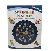 "Winique Splash Pad, 68"" Outdoor Summer Toys, Children Sprinkler Play Mat"