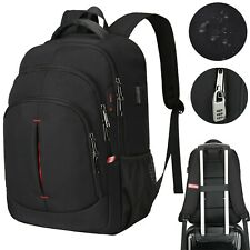 More details for large laptop backpack usb waterproof anti-theft business travel school rucksack