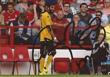 Aston Villa: José Ángel Crespo firmado 6x4 foto de acción + certificado De Autenticidad