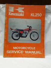 New NOS OEM Kawasaki Service Shop Manual KL250 1977 99924-1002-01