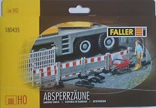 FALLER 180435 Barrier Fences 00/HO Gauge Plastic Kit for Model Rail