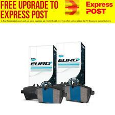Bendix EURO Front and Rear Brake Pad Set DB1409-DB1397EURO+