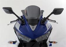 Yamaha YZF R3 15 17 Airflow Shield Windshield Screen Dark - Powerbronze NOS PB