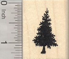 Small Christmas Tree Rubber Stamp, Pine, Fir, Evergreen D29316 WM