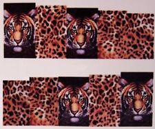 Nagel Sticker Tiger Aufkleber Full Cover Sticker Leopard Nailart Tattoo B1076